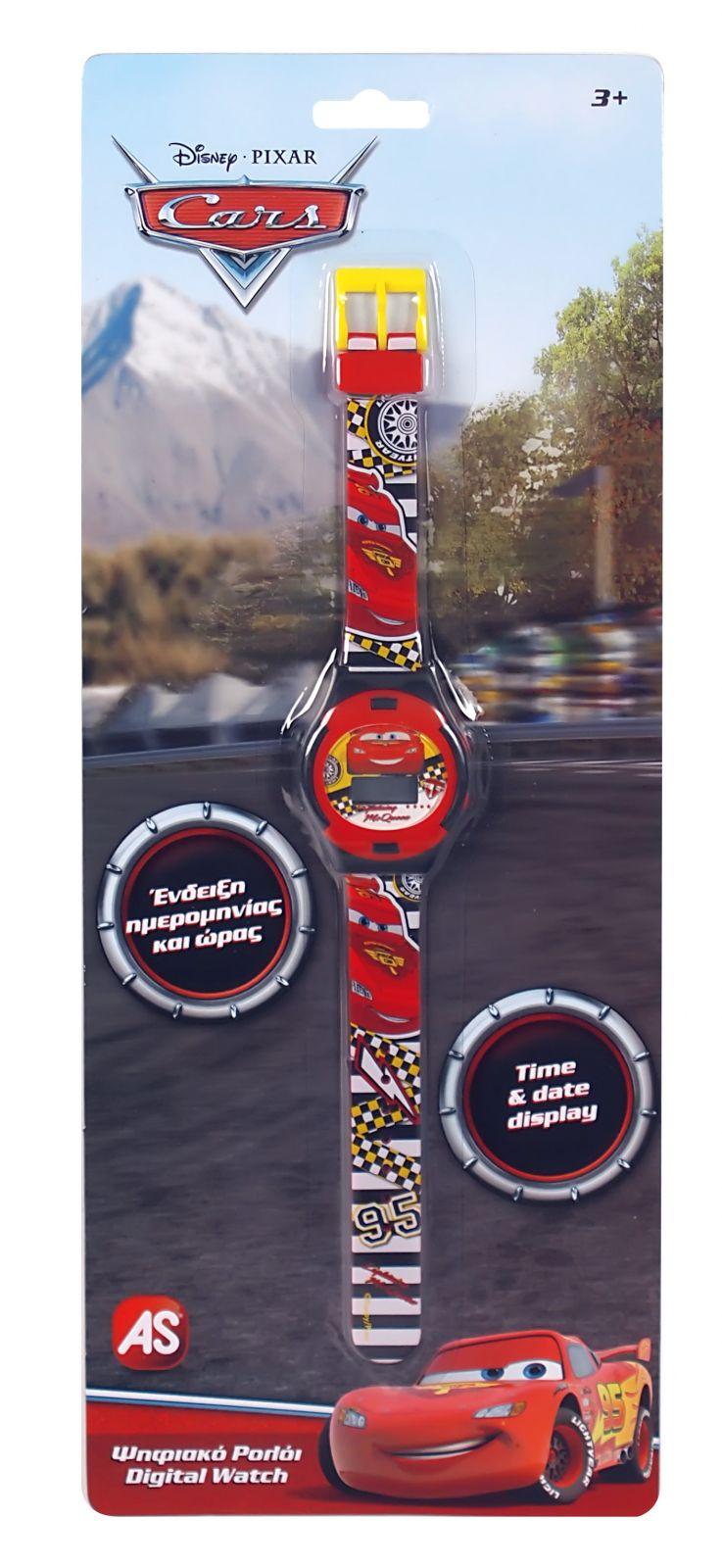 Dětské hodinky - digitální ( blistr ) - CARS - Auta AS Company