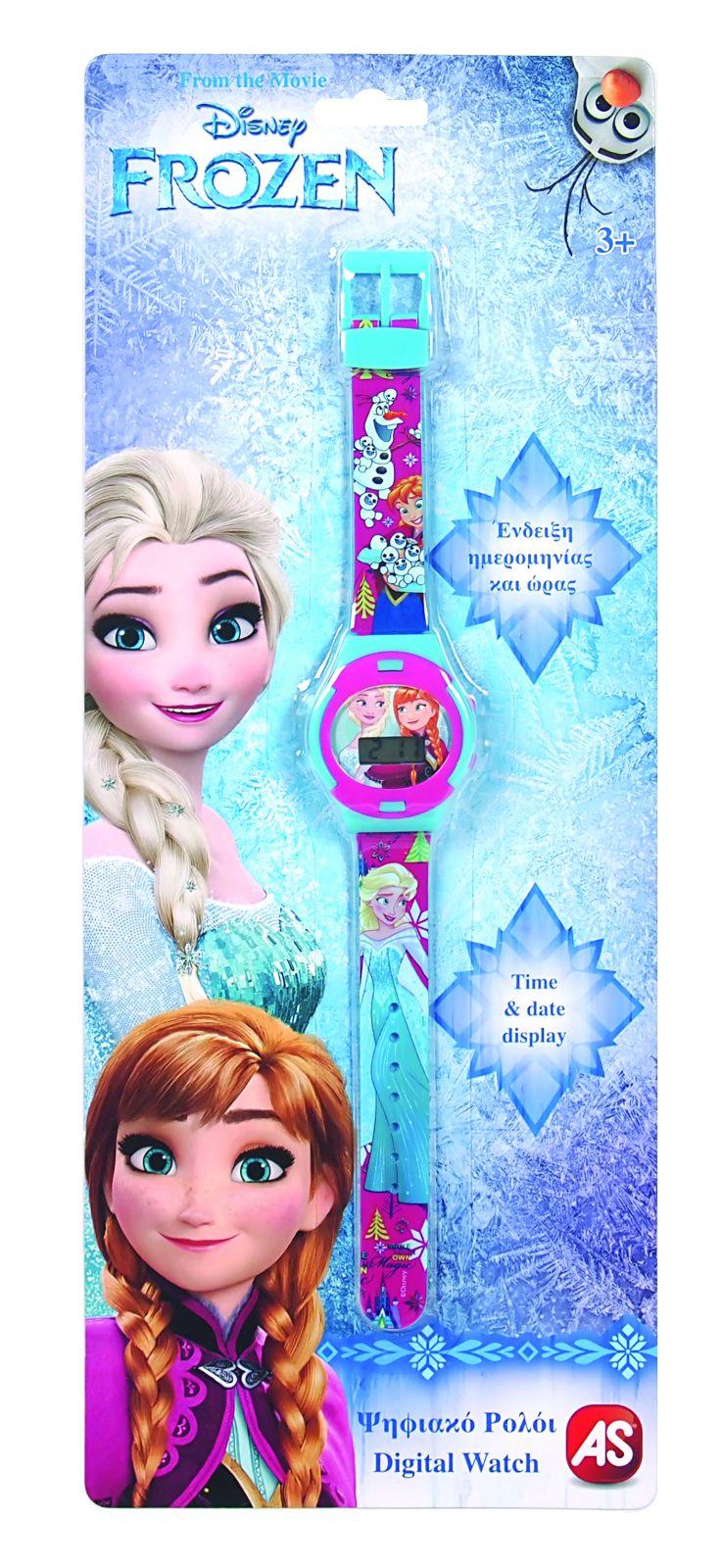 Dětské hodinky - digitální ( blistr ) - Frozen - Ledové království AS Company