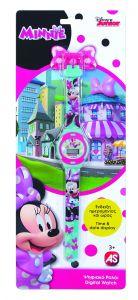 Dětské hodinky - digitální  ( blistr )   - Minnie Mouse