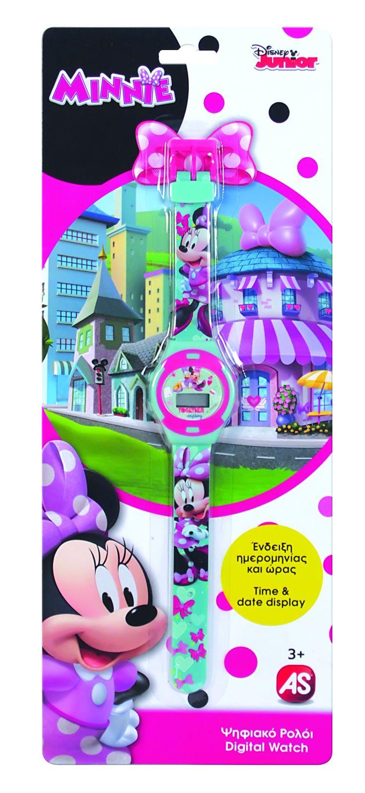 Dětské hodinky - digitální ( blistr ) - Minnie Mouse AS Company