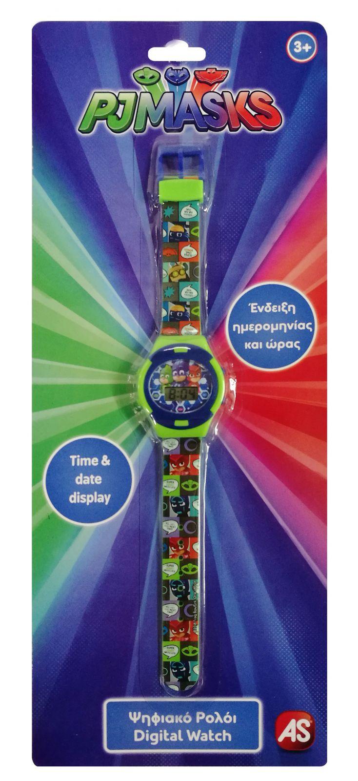 Dětské hodinky - digitální ( blistr ) - Pyžamasky AS Company