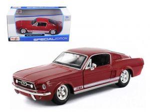 Maisto 1:24  1967 Ford Mustang GT  31260 - červená  barva