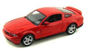 Maisto 1:24  2011 Ford Mustang GT  31209 - červená  barva