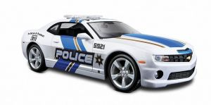 Maisto  1:24 2010 Chevrolet Camaro RS   police  31208 - bílá barva  - police