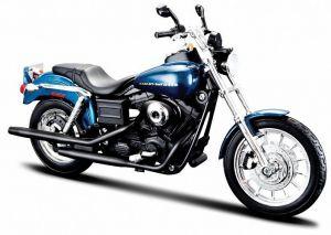 Maisto Harley Davidson 2004 Dyna Super Glide Sport  1:12 modrá metalíza