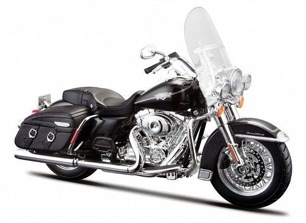 Maisto Harley Davidson 2013 FLHRC Road King Classic 1:12 černá