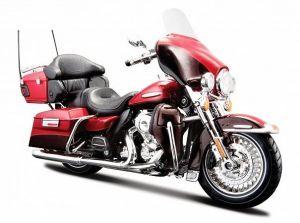 Maisto Harley Davidson 2013 FLHTK Electra Glide Ultra Limited  1:12 červená