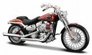 Maisto Harley Davidson 2014  CVO Breakout  1:12 oranžová