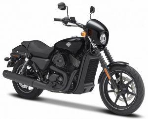 Maisto Harley Davidson 2015 Street 750 1:12 černá