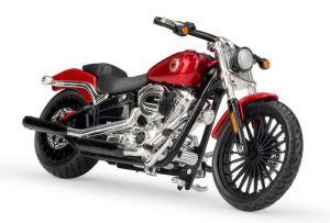 Maisto Harley Davidson Breakout red 2016 1:18  red