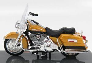Maisto Harley Davidson FLHR Road King 1999 1:18 yellow