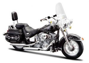 Maisto Harley Davidson FLSTC Heritage Softail Classic 2002 1:18 black