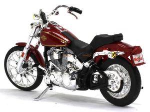 Maisto Harley Davidson FXST Softail 1984 1:18 red