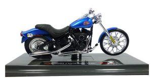 Maisto Harley Davidson FXSTB Night Train 2002  1:18 blue