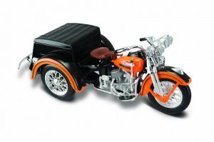 Maisto Harley Davidson Servicar   1947 Servi-Car  1:18  oranžová