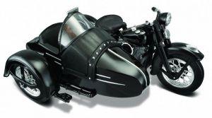 Maisto Harley Davidson Sidecar - 1948 FL  1:18  černá