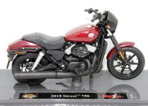 Maisto Harley Davidson Street 750 2015 1:18 burg