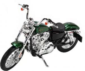 Maisto Harley Davidson XL 1200V Seventy Two 2012 1:18 green