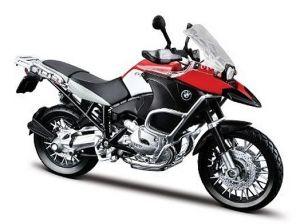 Maisto motorka 1:12 BMW R 1200GS - černá