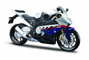 Maisto motorka 1:12 BMW S  1000 RR - bílá