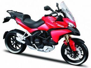 Maisto motorka 1:12 Ducati Multistrada 1200S - červená