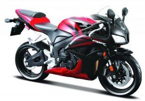 Maisto motorka 1:12 Honda CBR 600RR - červená