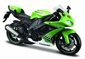 Maisto motorka 1:12 Kawasaki Ninja ZX10R - zelená