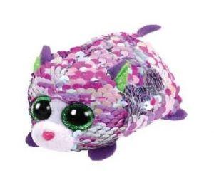 Plyšák TY - Teeny Ty´s  Flippables - kočička Lilac 10 cm  42408