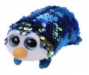 Plyšák TY - Teeny Ty´s  Flippables - modrý tučňák Payton 10 cm  42406