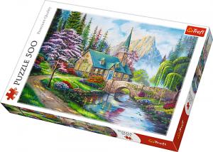Puzle Trefl 500 dílků - Lesní zákoutí  37327
