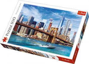 Puzle Trefl 500 dílků - Pohled na New York   37331