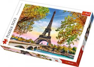 Puzle Trefl 500 dílků - Romantická Paříž  37330