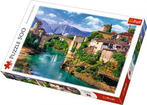 Puzle Trefl 500 dílků - starý most v Mostaru    37333