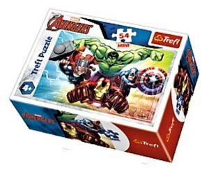 Puzzle mini 54 d - Trefl - Avengers  19613