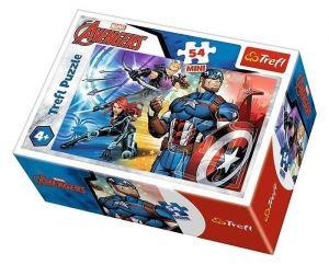 Puzzle mini 54 d - Trefl - Avengers  19614