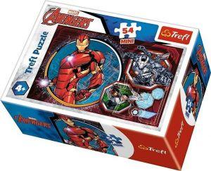 Puzzle mini 54 d - Trefl - Avengers  19615