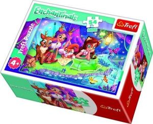 Puzzle mini 54 d - Trefl - Enchantimals  19617