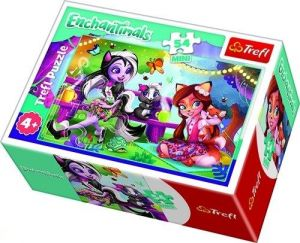 Puzzle mini 54 d - Trefl - Enchantimals  19618