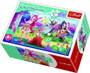 Puzzle mini 54 d - Trefl - Enchantimals  19619