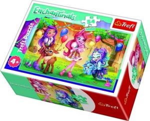 Puzzle mini 54 d - Trefl - Enchantimals  19620