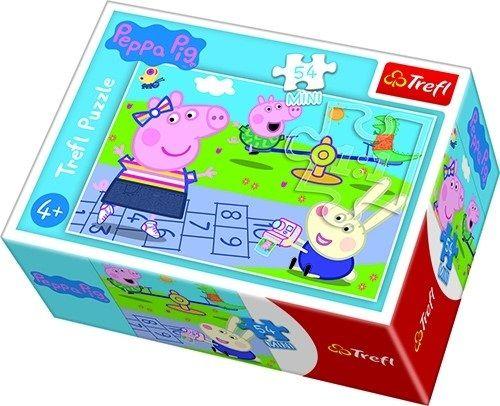 Puzzle mini 54 d - Trefl - Prasátko Peppa 19627