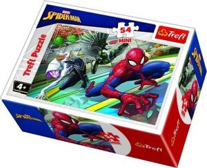 Puzzle mini 54 d - Trefl - Spiderman  19605