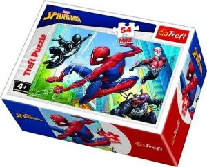 Puzzle mini 54 d - Trefl - Spiderman  19606