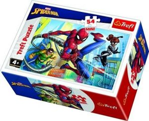 Puzzle mini 54 d - Trefl - Spiderman  19607