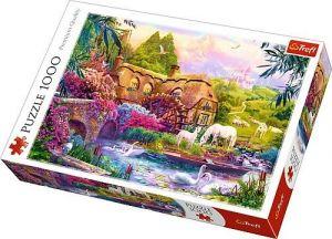 Puzzle Trefl  1000 dílků  - pohádková krajina 10496