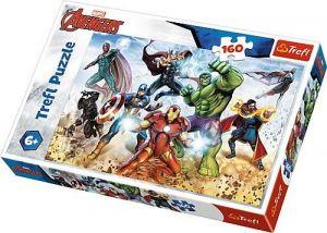 Puzzle Trefl 160 dílků - Avengers - k záchraně světa  15368