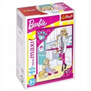 TREFL 20 dílků mini-MAXI - Barbie 21060