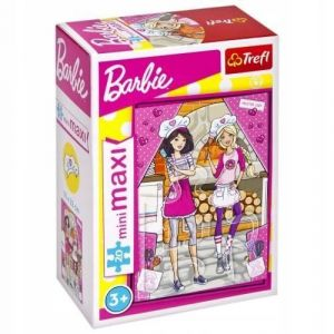 TREFL 20 dílků mini-MAXI - Barbie 21062