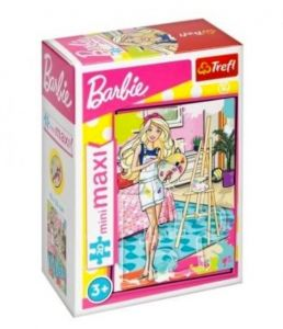 TREFL 20 dílků mini-MAXI - Barbie 21063