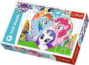 Trefl puzzle  30 dílků  - My Little Pony - společně lépe  18241